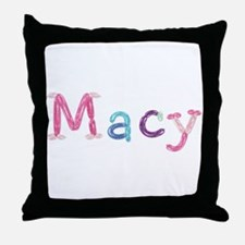 Macy Princess Balloons Throw Pillow
