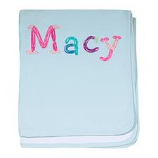 Macy Princess Balloons baby blanket