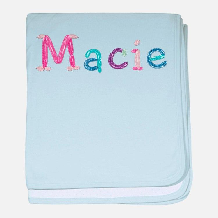 Macie Princess Balloons baby blanket