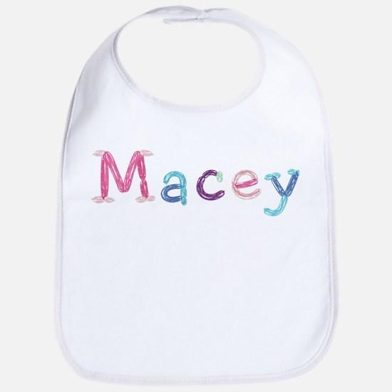 Macey Princess Balloons Bib