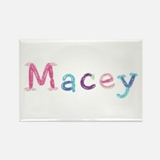 Macey Princess Balloons Rectangle Magnet