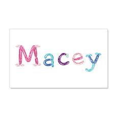 Macey Princess Balloons 20x12 Wall Peel