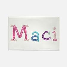 Maci Princess Balloons Rectangle Magnet