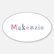 Makenzie Princess Balloons Oval Decal