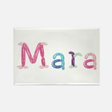 Mara Princess Balloons Rectangle Magnet