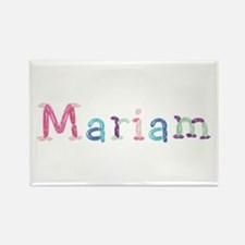 Mariam Princess Balloons Rectangle Magnet