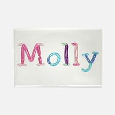 Molly Princess Balloons Rectangle Magnet