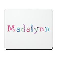 Madalynn Princess Balloons Mousepad
