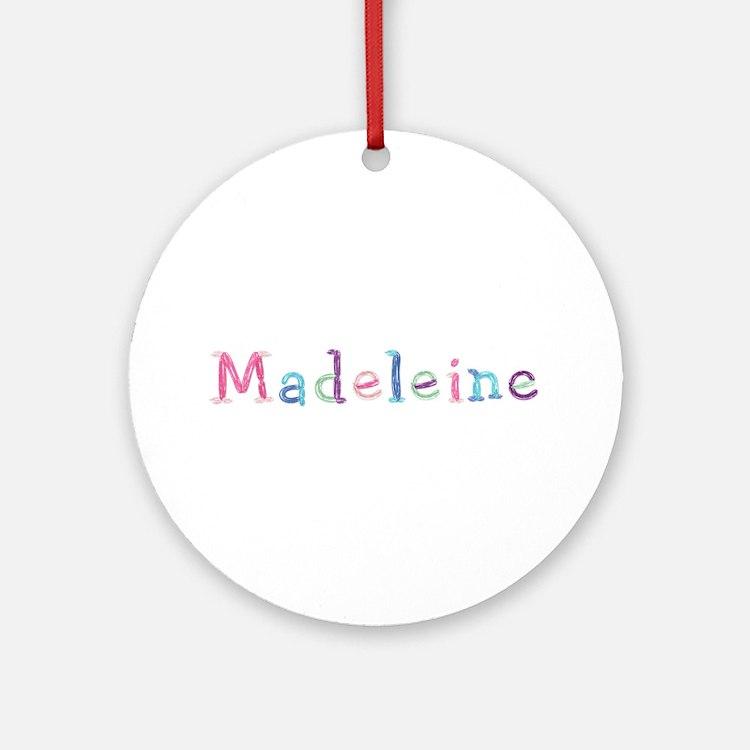 Madeleine Princess Balloons Round Ornament