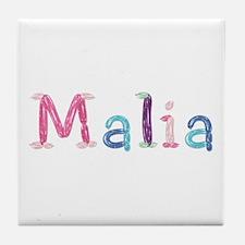 Malia Princess Balloons Tile Coaster