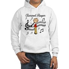 Clarinet Player Jumper Hoody