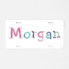 Morgan Princess Balloons Aluminum License Plate