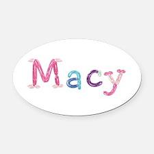Macy Princess Balloons Oval Car Magnet