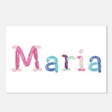 Maria Princess Balloons Postcards 8 Pack
