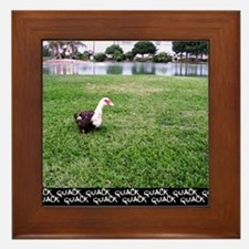 Ducky Framed Tile