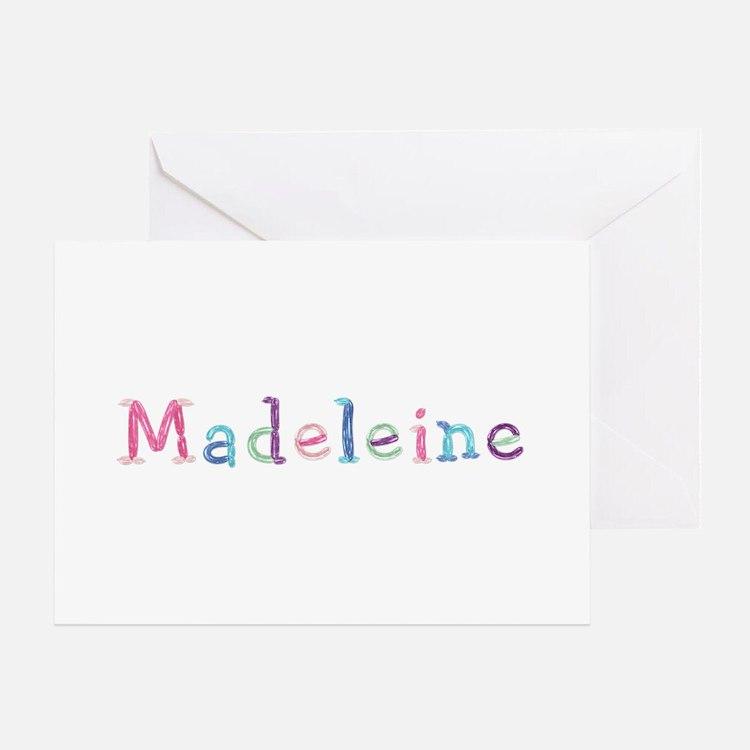 Madeleine Princess Balloons Greeting Card