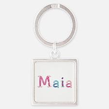 Maia Princess Balloons Square Keychain
