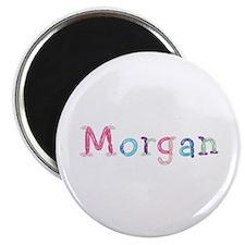 Morgan Princess Balloons Round Magnet