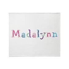 Madalynn Princess Balloons Throw Blanket