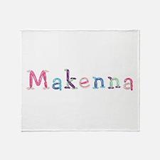 Makenna Princess Balloons Throw Blanket