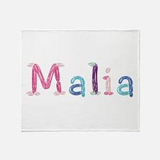 Malia Princess Balloons Throw Blanket
