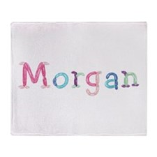 Morgan Princess Balloons Throw Blanket