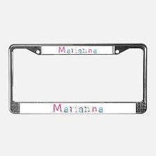 Marianna Princess Balloons License Plate Frame