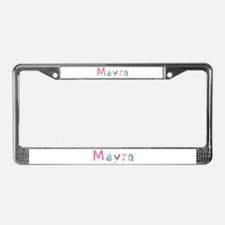 Mayra Princess Balloons License Plate Frame