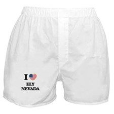 I love Ely Nevada Boxer Shorts