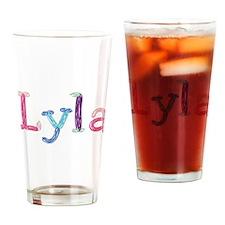 Lyla Princess Balloons Drinking Glass