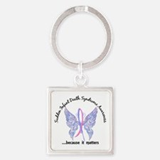 SIDS Butterfly 6.1 Square Keychain