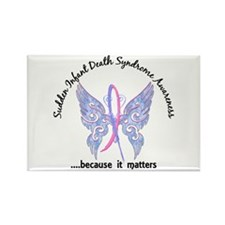 SIDS Butterfly 6.1 Rectangle Magnet