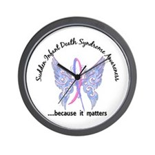 SIDS Butterfly 6.1 Wall Clock
