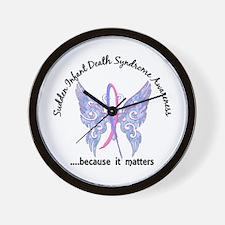 SIDS Butterfly 6.1 Wall Clock