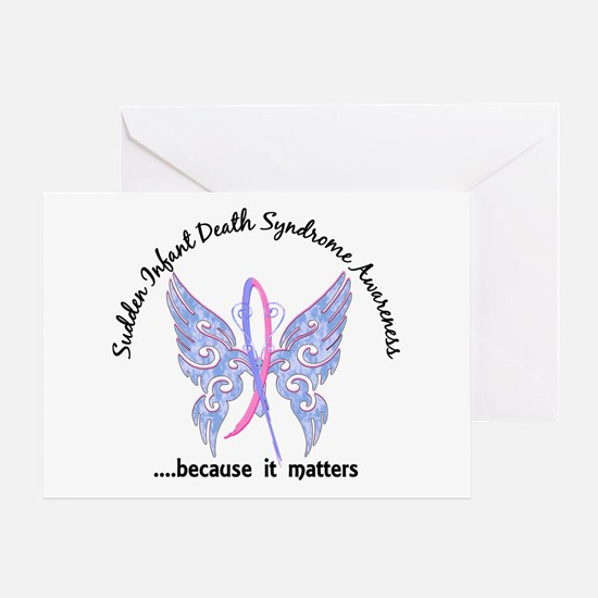 SIDS Butterfly 6.1 Greeting Card