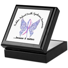 SIDS Butterfly 6.1 Keepsake Box
