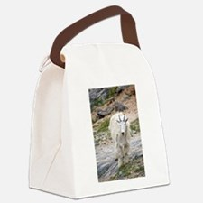 Mountain Goat Canvas Lunch Bag