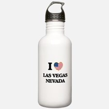 I love Las Vegas Nevad Water Bottle