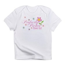 Cute Flower girl Infant T-Shirt