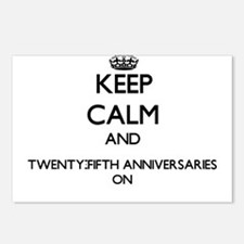 Keep Calm and Twenty-Fift Postcards (Package of 8)