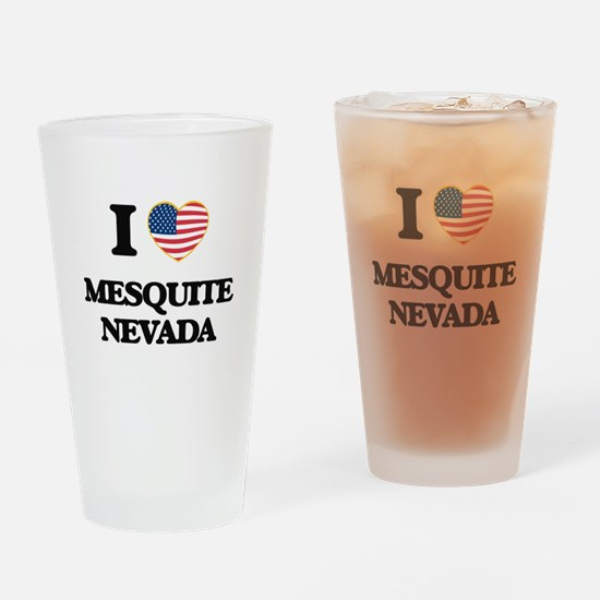 I love Mesquite Nevada Drinking Glass