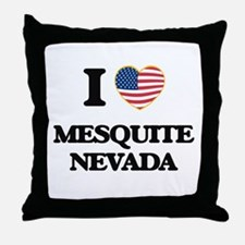 I love Mesquite Nevada Throw Pillow
