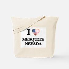 I love Mesquite Nevada Tote Bag