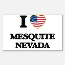 I love Mesquite Nevada Decal
