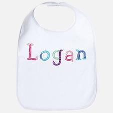 Logan Princess Balloons Bib