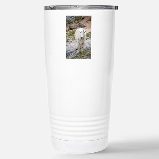 Mountain Goat Stainless Steel Travel Mug