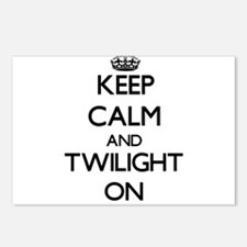 Keep Calm and Twilight ON Postcards (Package of 8)