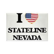 I love Stateline Nevada Magnets