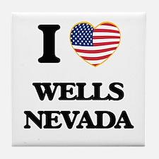 I love Wells Nevada Tile Coaster