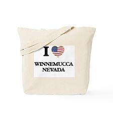I love Winnemucca Nevada Tote Bag